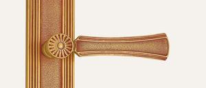 Vintage Serie DASY französisch Gold