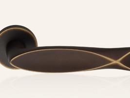 Design-Serie Fish - Bronze matt