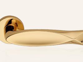 Design-Serie Fish - Gold glänzend