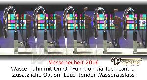 Touch control Wasserhahn