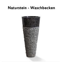 Natursteinwaschbecken