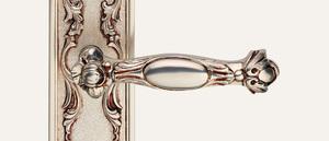 Vintage Queen Design Silber französisch