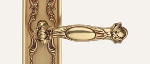 Vintage Queen Design Gold französisch