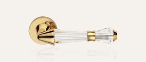 Swarovksi Kristall Serie LUCE gold 24kt