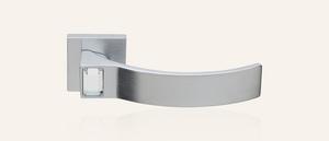 Swarovski Design - Serie ELIOS Crystal chrom-satiniert