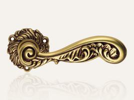 Vintage Rococo französisch Gold
