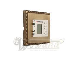 Thermostateinheit, Elektrische Schalterinstallation, Dimmerinstallation