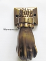 Türklopfer Hand Bronze 2