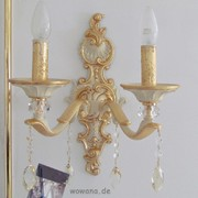 Barocke Wandlampe
